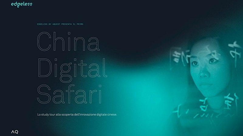 Aquest presenta il China Digital Safari, un tour alla scoperta della rivoluzione digitale cinese