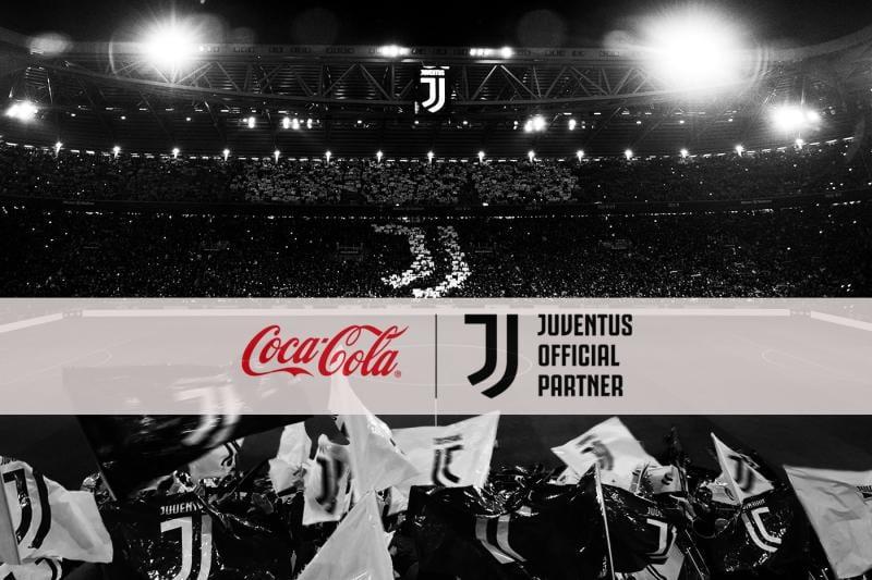 Juventus e Coca-Cola, insieme!