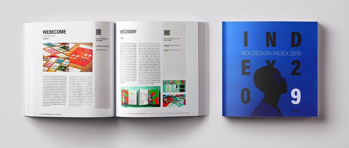 Logotel vince l'Impact Design di Logotel Webecome e Weconomy entrano nell'ADI Design Index 2019