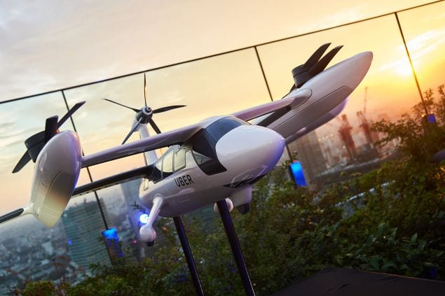 Uber-copter, immagine dal web