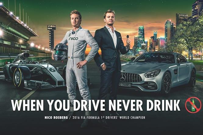 """Continua la campagna Heineken """"Se bevi, non guidi"""": nuovo spot con Keke e Nico Rosberg"""