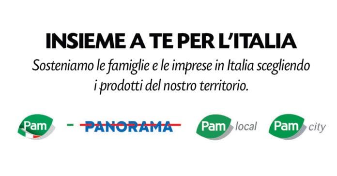"""Pam Panorama dà il via alla campagna """"Insieme a te per l'Italia"""""""