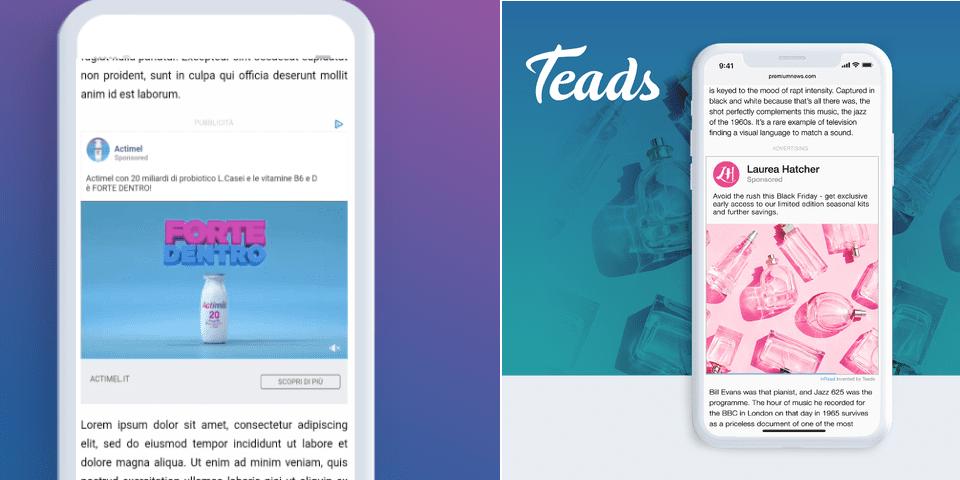 Su Teads arriva inRead Social, il prodotto che rende scalabile l'adv social
