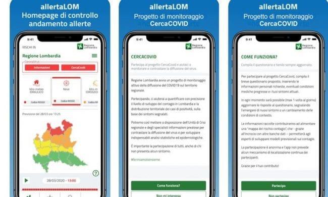 App per controllo contagio in Lombardia: ecco come funziona