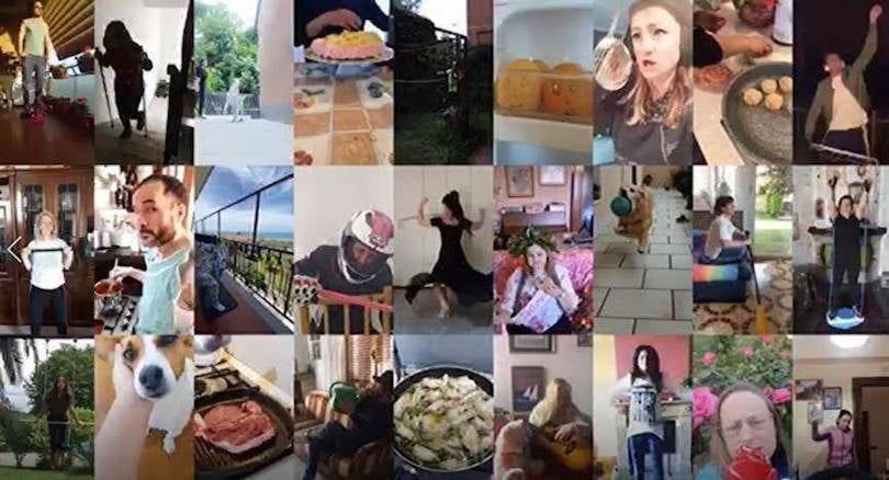 """""""Grazie Italiani"""", il manifesto di Chiquita diventato adv"""