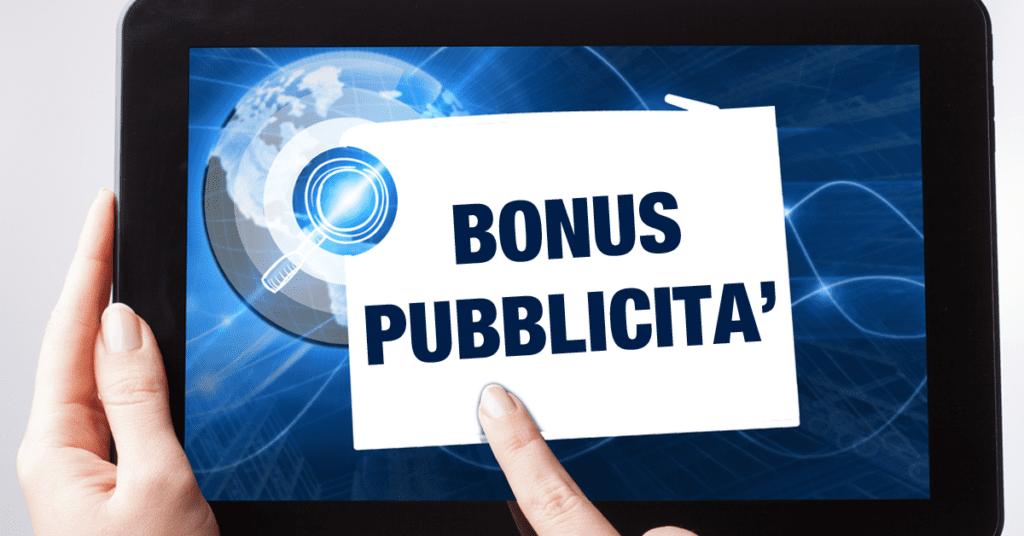 Arriva il Bonus Pubblicità esteso a TV e radio