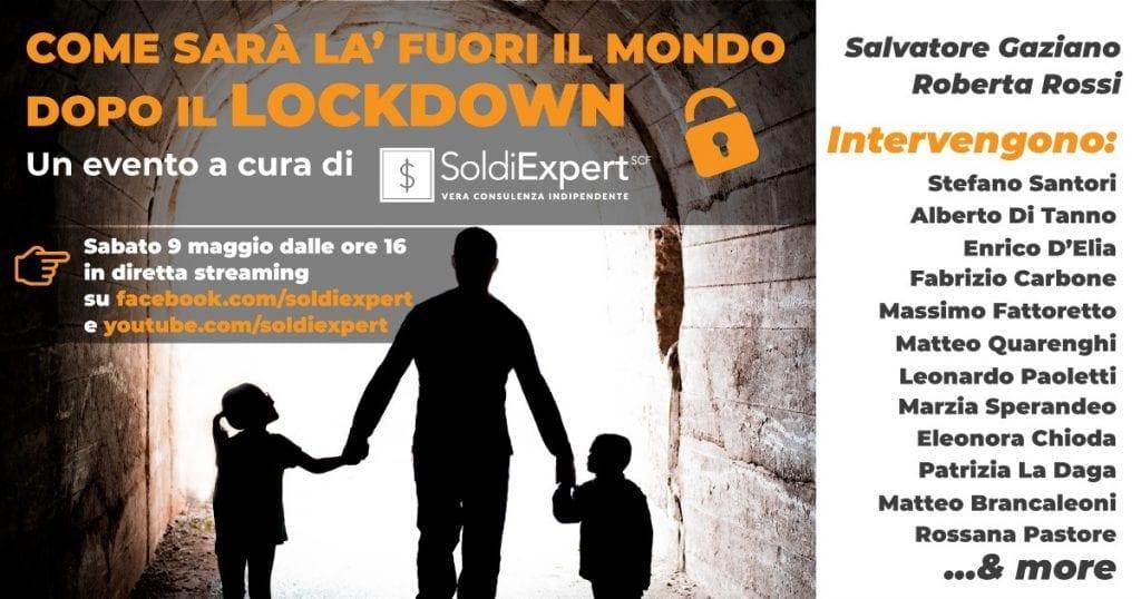 Come sarà là fuori il mondo dopo il Lockdown? Live su YT e Facebook sabato 9 Maggio