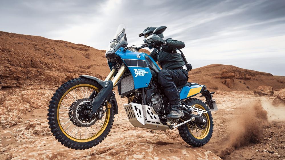"Ténéré 700 Rally Edition protagonista dell'iniziativa digital ""Timeless Horizon"""