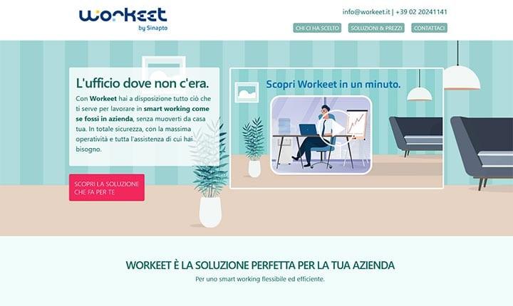Workeet, il nuovo servizio Sinapto promosso da iniziativa digital