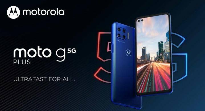 Il 5G arriva nella fascia media con Moto G 5G plus