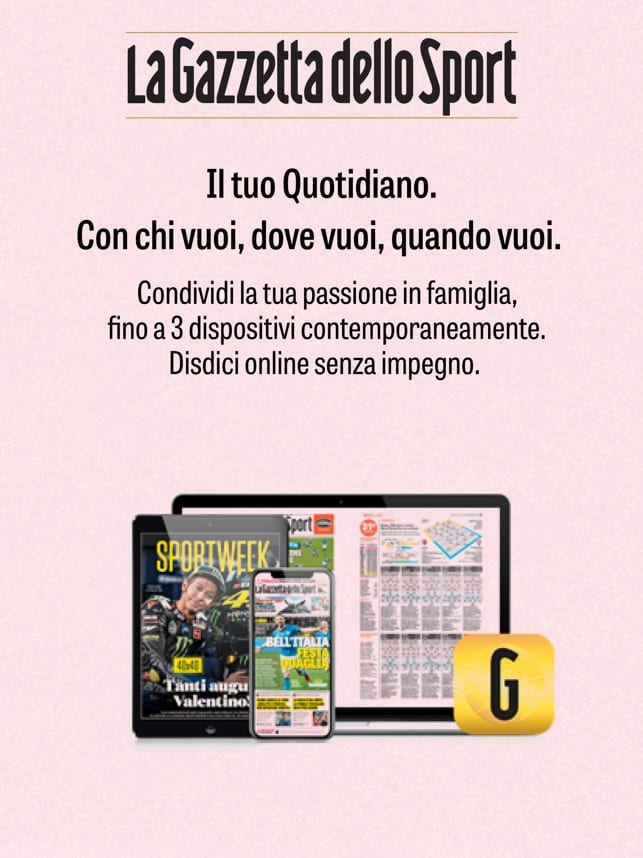 Arriva l'app mobile della Gazzetta dello Sport